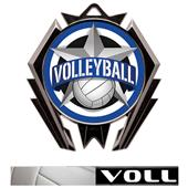 Hasty Stealth Volleyball All-Star Medal M-5200