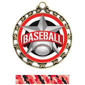 Hasty Award Baseball All-Star Insert Medal M-4401