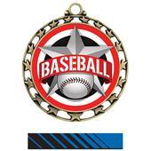 Hasty Award Baseball All-Star Insert Medal M-4401