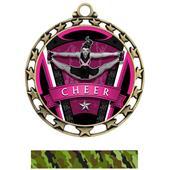 Hasty Award Cheer Varsity Insert Medal M-4401