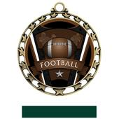 Hasty Award Football Varsity Insert Medal M-4401