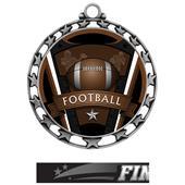 Hasty Award Football Varsity Insert Medal M-4401