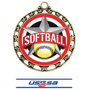 GOLD MEDAL/DELUXE USSSA NECK RIBBON