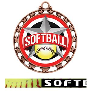 BRONZE MEDAL/PRIME SOFTBALL NECK RIBBON