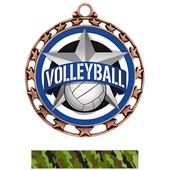 Hasty Award Volleyball All-Star Insert Medal