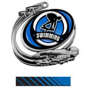 Hasty Swim Action Spectrum Insert Medal M-1201W