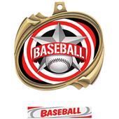 Hasty Baseball All-Star Insert Hurricane Medals