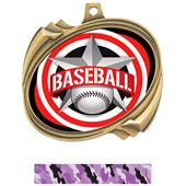 Hasty Baseball All-Star Insert Hurricane Medals