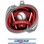 Hasty Baseball Varsity Insert Hurricane Medals