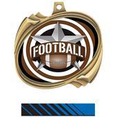 Hasty Football All-Star Insert Hurricane Medals
