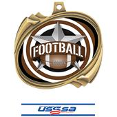 Hasty Football All-Star Insert Hurricane Medals