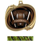 Hasty Football Varsity Insert Hurricane Medals