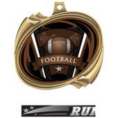 Hasty Football Varsity Insert Hurricane Medals