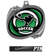 Hasty Soccer Spectrum Insert Hurricane Medals