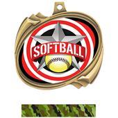 Hasty Softball All-Star Insert Hurricane Medals