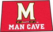 Fan Mats Univ of Maryland Man Cave Starter Mat