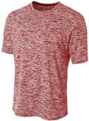 A4 Adult Polyester Space Dye Tech Shirt