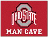 Fan Mats Ohio State Univ Man Cave All-Star Mat
