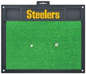Fan Mats NFL Pittsburgh Steelers Golf Hitting Mat