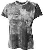 A4 Women's Polyester Cloud Dye Tech Tee Shirt