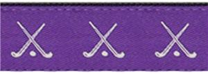 PURPLE/WHITE HOCKEY