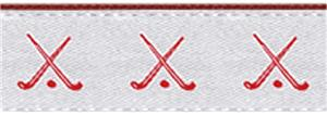 WHITE/RED HOCKEY