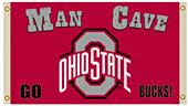 NCAA Ohio State Buckeyes 3' x 5' Man Cave Flag