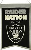 Winning Streak NFL Raiders Franchise Banner