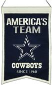 Winning Streak NFL Dallas Cowboys Franchise Banner