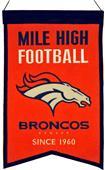 Winning Streak NFL Denver Broncos Franchise Banner