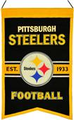 Winning Streak NFL Steelers Franchise Banner