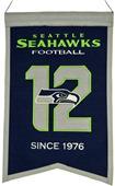 Winning Streak NFL Seahawks Franchise Banner