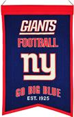 Winning Streak NFL NY Giants Franchise Banner