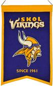 Winning Streak NFL Vikings Franchise Banner