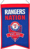 Winning Streak MLB Texas Rangers Nations Banner