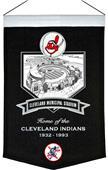 MLB Cleveland Municipal Stadium Banner