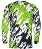 Badger Sport Adult Tie Dri Long Sleeve Tee Shirt