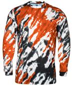 Badger Sport Adult Tie Dri Long Sleeve Tee Shirt
