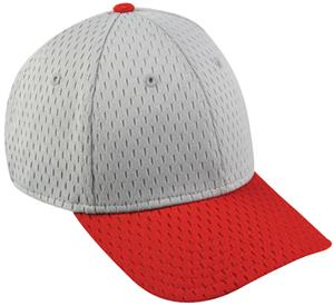 LIGHT GREY/RED