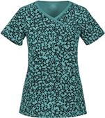 Cherokee Women's Mock-Wrap Scrub Tops