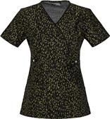 Runway by Cherokee Women's Mock Wrap Scrub Top