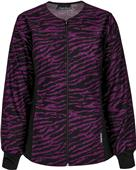Cherokee Women Zip Front Warm-Up Scrub Jacket