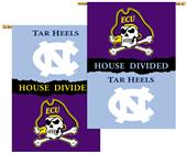 NCAA E. Carolina N. Carolina House Divided Banner