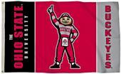 COLLEGIATE Ohio State Brutus 3' x 5' Flag