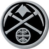 Fan Mats NBA Denver Nuggets Vehicle Emblem