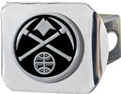 Fan Mats NBA Denver Nuggets Chrome Hitch Cover