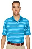 Adidas Golf Puremotion Textured Stripe Mens Polo