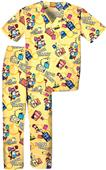 Tooniforms Kids Book Smart Top/Bottom Scrub Set