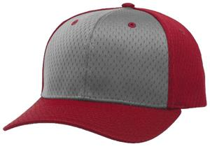 (ALTERN.) GREY FRONT PANEL/RED VISOR/RED BACK