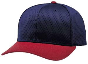 (COMBO) NAVY CROWN/RED VISOR